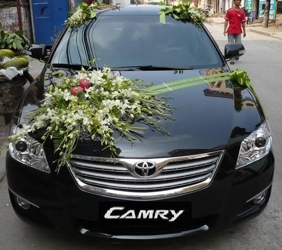 cho thuê xe hoa tại Vinh