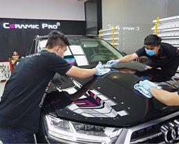 Phủ Ceramic cho xe ô tô tại Vinh