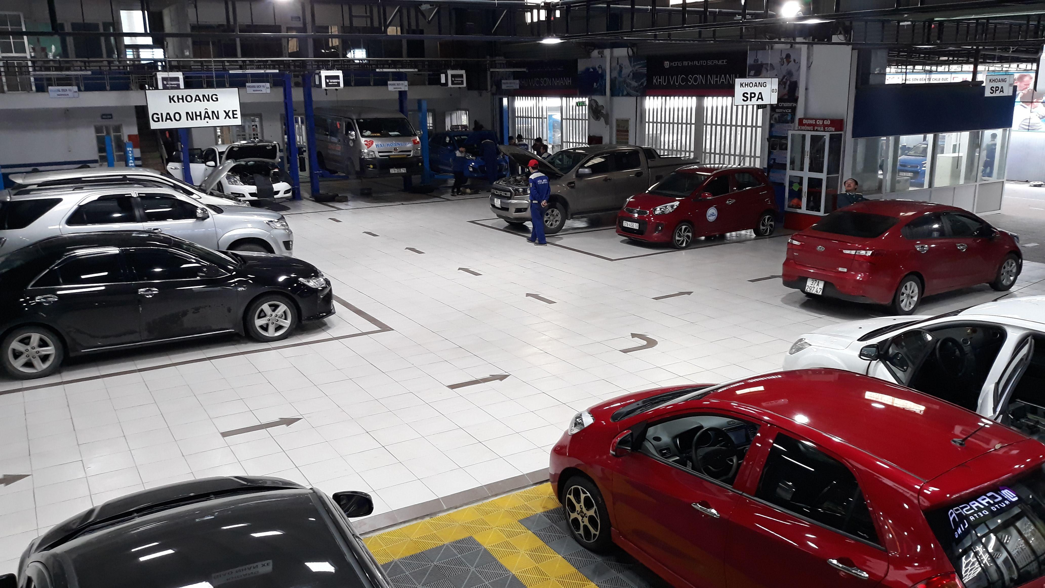 Sửa ô tô tại Vinh
