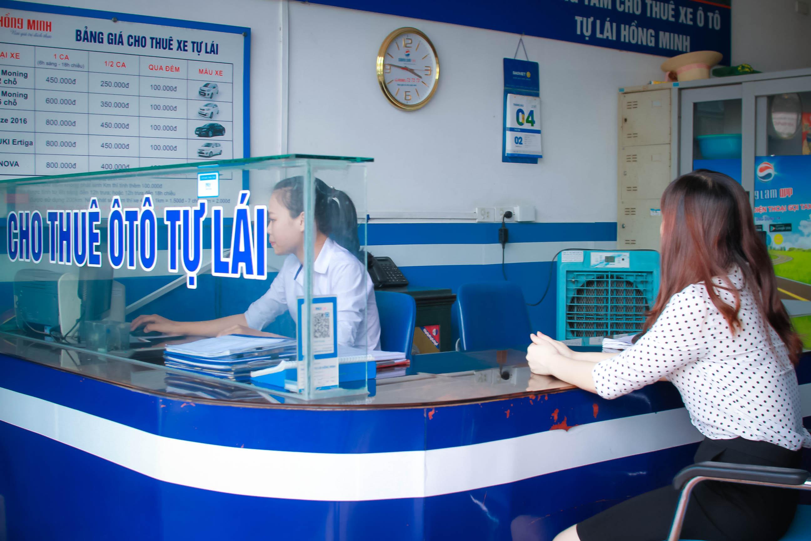 thuê xe tự lái tại Vinh