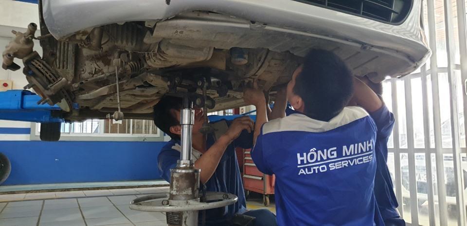 sửa xe ô tô tại Vinh