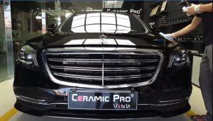 Phủ gốm Ceramic Pro tại Vinh cho Mec S450 | Hồng Minh Auto