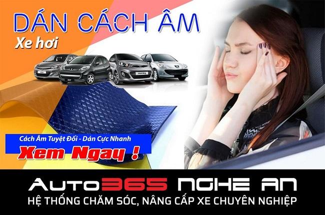 Dán cách âm xe hơi tại Vinh   Hồng Minh Auto