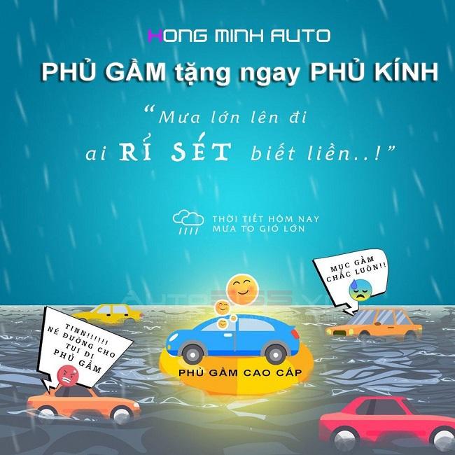 Phủ gầm tặng ngay Phủ kính – Ưu đãi cực sốc tại Hồng Minh Auto