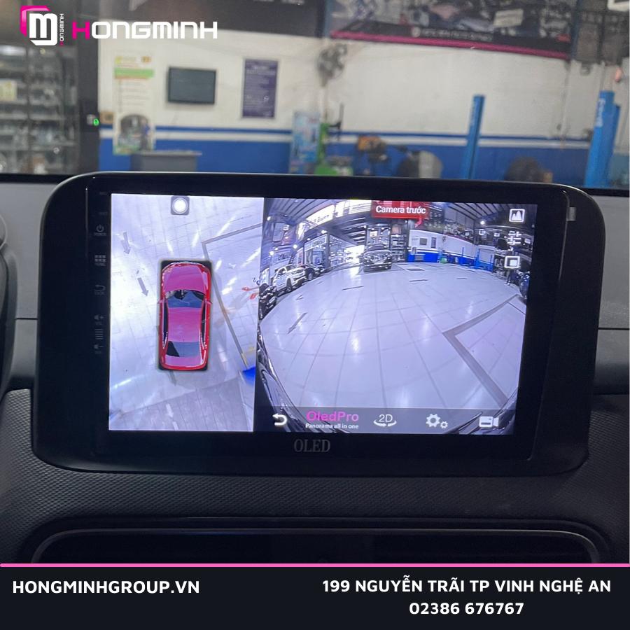 màn hình cảm ứng Android với hệ thống 4 mắt camera 360 toàn cảnh
