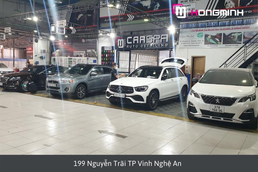 Địa chỉ bảo dưỡng xe Mercedes-Benz tại Vinh